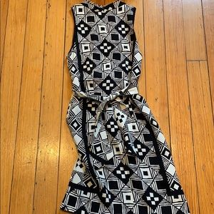 Nicole Miller Collection graphic print dress